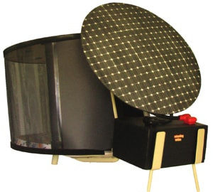 if you have an obsolete satellite dish it can be easily converted into a warm and comfortable dog house